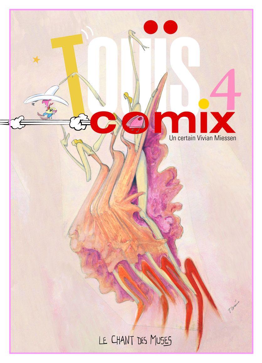 Touïs Comix 4 – couverture