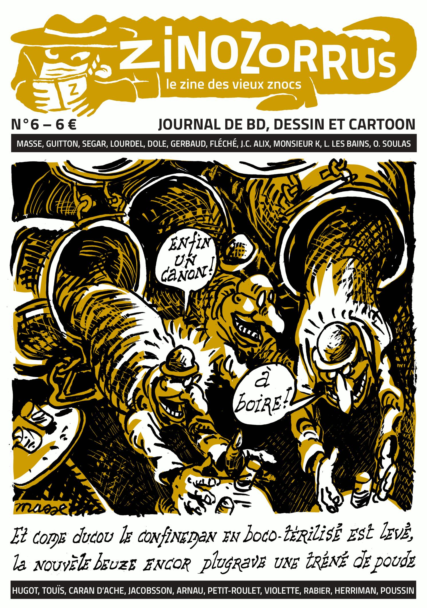 Zinozorrus 6 – couverture