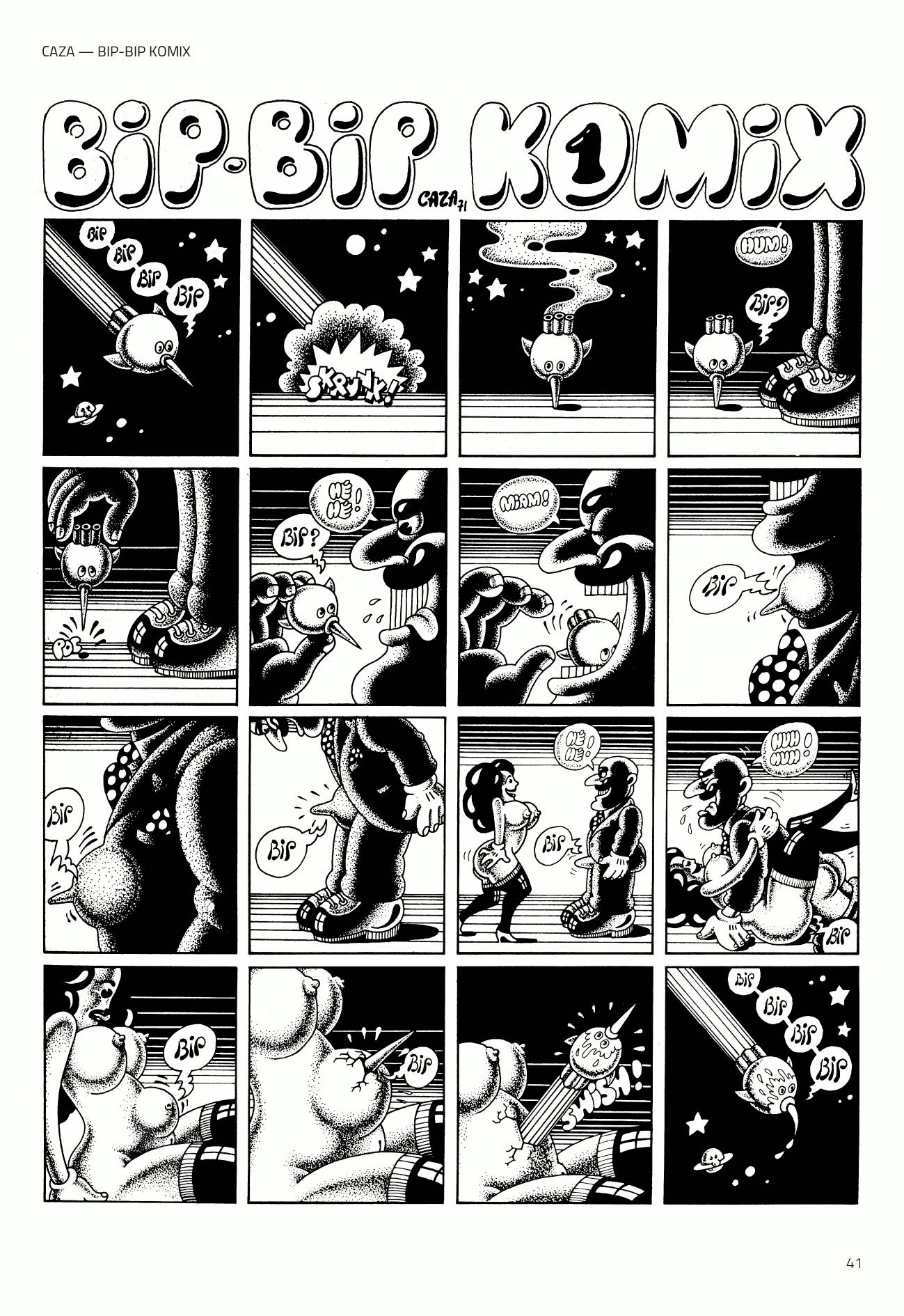 Caza – Bip bip Komix