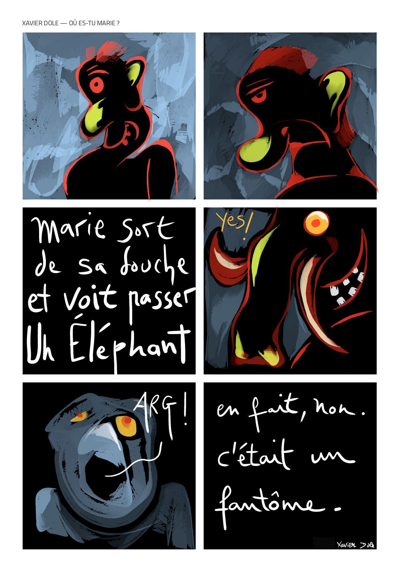Xavier Dole – Où es-tu Marie ?