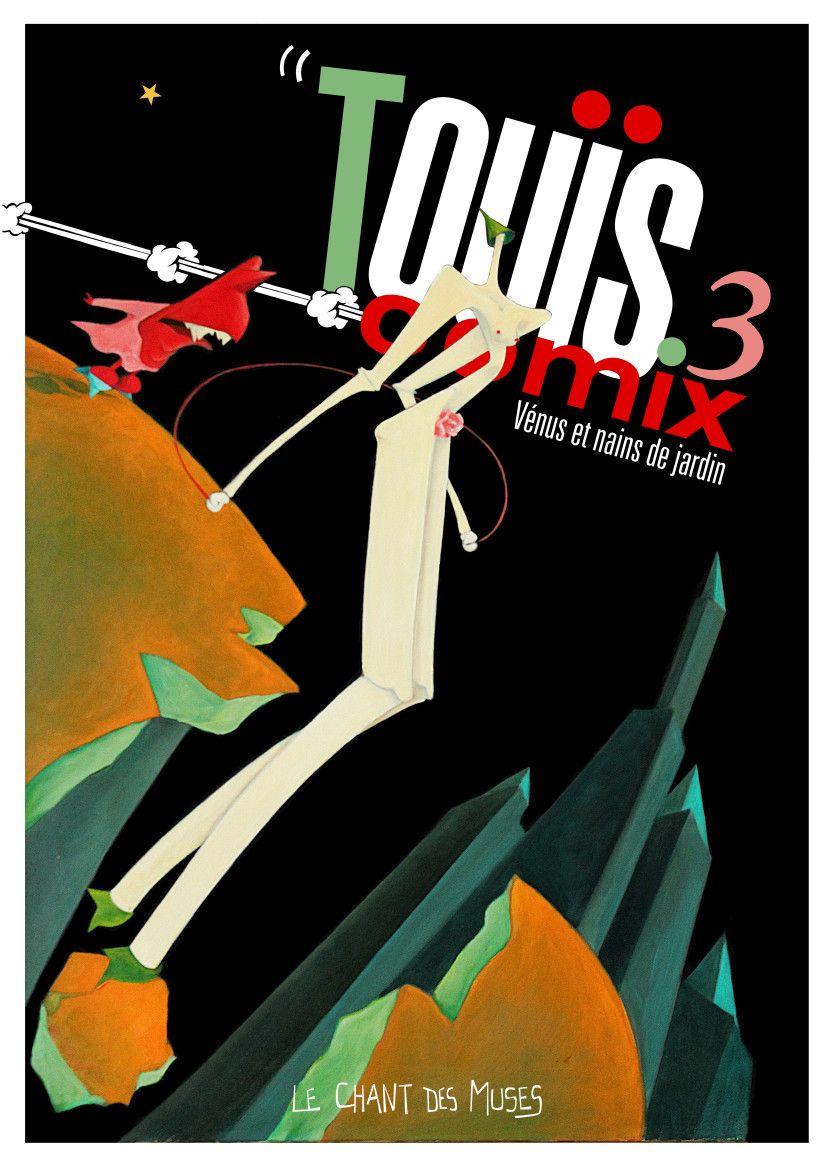 Touïs Comix 3 – couverture