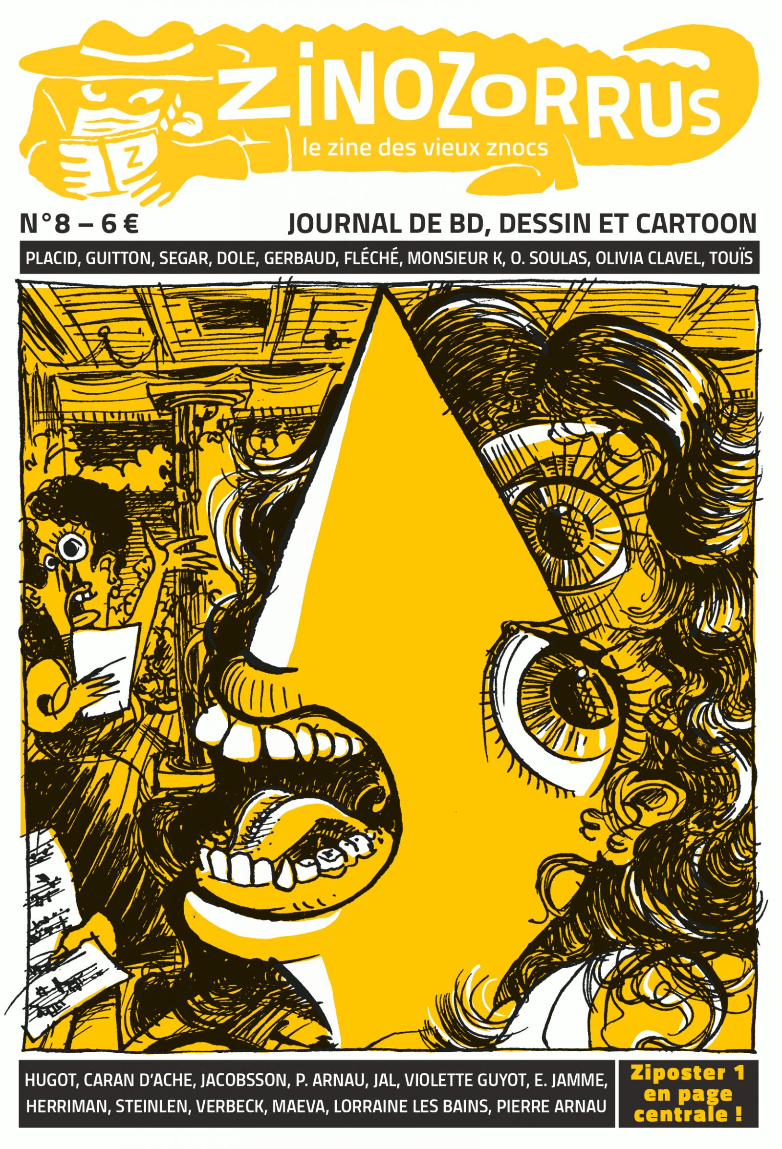 Zinozorrus 8 – couverture