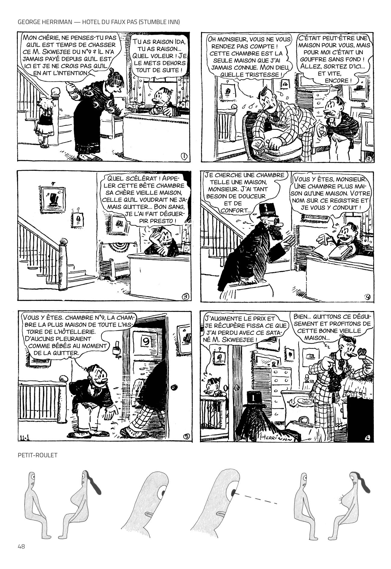 George Herriman + Petit-Roulet